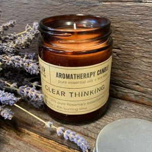 Aromatherapy Candle – Clear Thinking