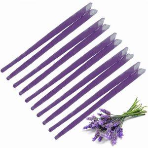 10x Lavender Ear Candles, Protector Disc & Leaflet