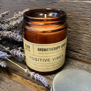 Aromatherapy Candle – Positive Vibes