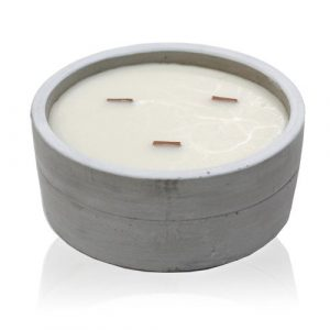 Large Round – Patchouli & Dark Amber Candle