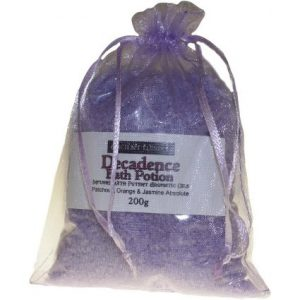 Decadence Potion – Patchouli, Orange & Jasmine Absolute – 200gr