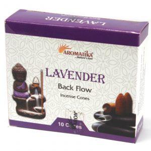 Aromatica Backflow Incense Cones – Lavender