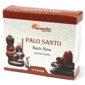Aromatica Backflow Incense Cones – Palo Santo
