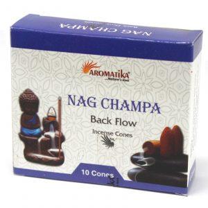 Aromatica Backflow Incense Cones – Nag Champa