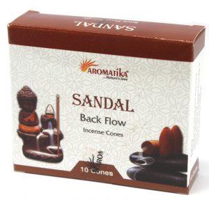 Aromatica Backflow Incense Cones – Sandalwood