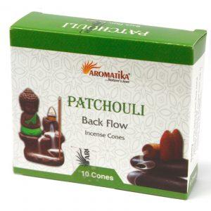 Aromatica Backflow Incense Cones – Patchouli