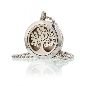 Aromatherapy Diffuser Necklace – Tree of Life 25mm