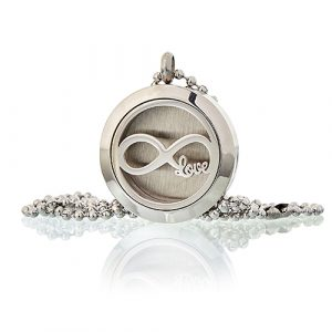 Aromatherapy Diffuser Necklace – Infinity Love  25mm