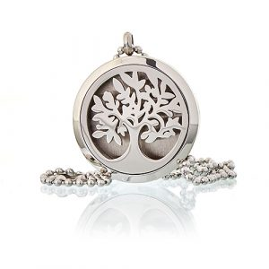Aromatherapy Diffuser Necklace – Tree of Life 30mm