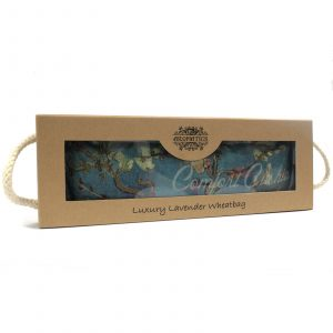 Luxury Lavender Wheat Bag in Gift Box – Blossom