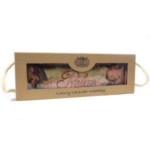 Luxury Lavender Wheat Bag in Gift Box – Sleeping RELAX