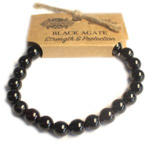 Power Bracelet – Black Agate