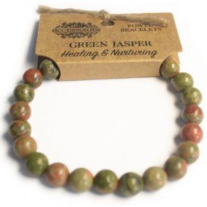 Power Bracelet – Green Jasper