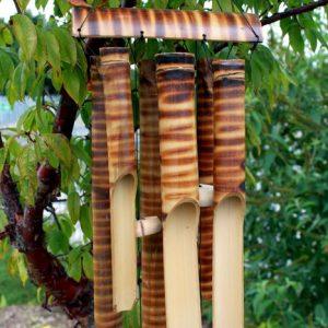 Bamboo Chimes 6 Tube Large