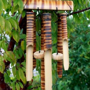 Bamboo Chimes 6 Tubes Med.