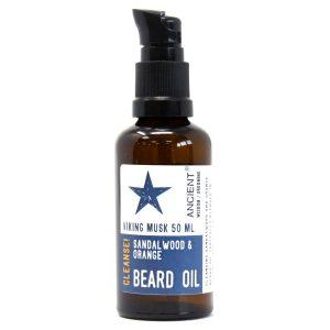 50ml Beard Oil – Viking Musk -Cleanse!