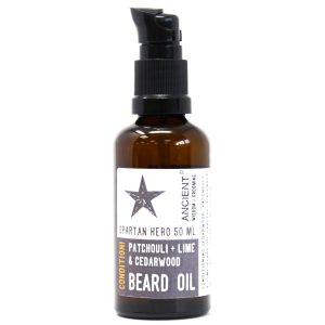 50ml Beard Oil – Spartan Hero – Condition!