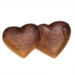 Bali Puzzle Box – Twin Hearts