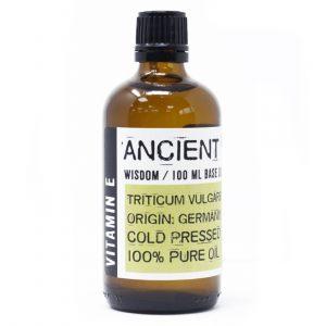 Natural Vitamin E 100ml Base Oil