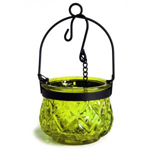 Moroccan Style Hanging Candle Lantern – Moss
