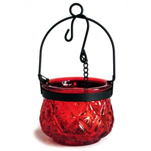 Moroccan Style Hanging Candle Lantern – Ruby