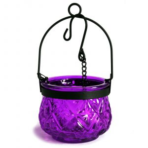 Moroccan Style Hanging Candle Lantern – Lavender