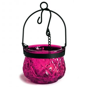 Moroccan Style Hanging Candle Lantern – Violet