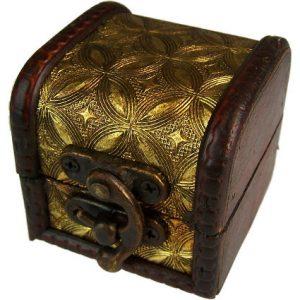Mini Colonial Box – Gold Design