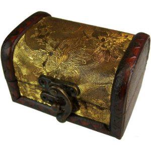 Medium Colonial Box – Gold Panel Design