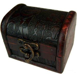 Medium Colonial Box – Egypt Embossed Design