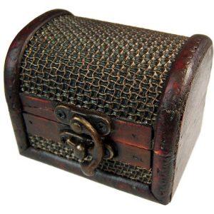 Medium Colonial Box – Mesh Embossed Design