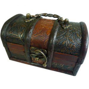 Lrg Colonial Box – Gold Panel