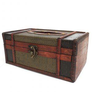 Vintage Style Tissue Box – Trunk Style