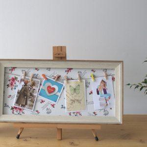 Med DIY Peg Photo Frames (30x60cm)- Floral