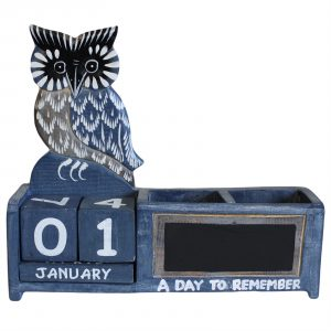 Day to Remember pen holder – Blue Owl
