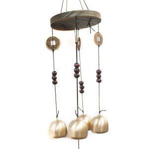Feng Shui Chimes – Lucky Coin 4 Bells