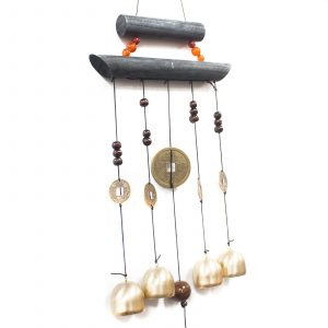 Feng Shui Chimes – Happy Home 4 Bells & Coin