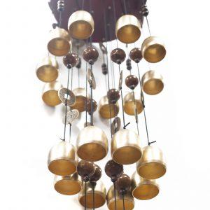 Feng Shui Chimes – Hexagon 18 Bells & Fan