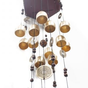 Feng Shui Chimes – Round 22 Bells & Coin