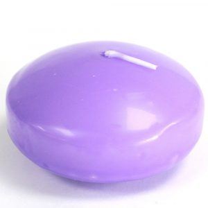 6x Large Floating Candles – Lilac