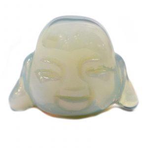 Gemstone Buddha Head – Opalite