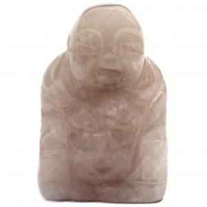 Gemstone Buddha – Rose Quartz