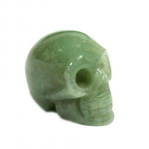 Gemstone Skull – Jade