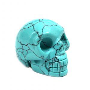 Gemstone Skull – Turquiose