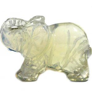 Gemstone Elephant – Opalite