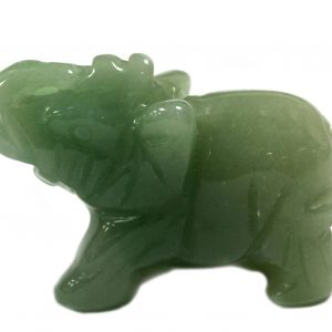 Gemstone Elephant – Jade