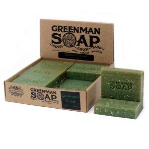 Greenman Soap 100g – Gardener's Scrub