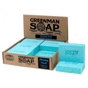 Greenman Soap 100g – Morning Fresh