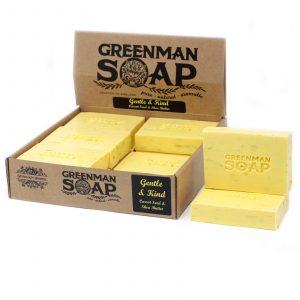 Greenman Soap 100g – Gentle & Kind