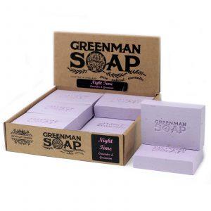 Greenman Soap 100g – Night Time